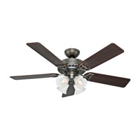 Hunter Fans Studio Series 4 Light Indoor Ceiling Fan in Antique Pewter 53065
