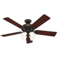 Hunter Fans Studio Series 4 Light Indoor Ceiling Fan in New Bronze 53067