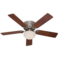 Hunter Fans Low Profile (III) Plus 1 Light Indoor Ceiling Fan in Antique Pewter 53074