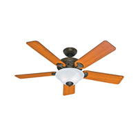 Hunter Fans The Brookline 2 Light Indoor Ceiling Fan in Provencal Gold 53108