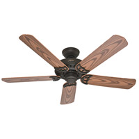 Bridgeport 52 inch New Bronze with Oak Plastic Blades Indoor Ceiling Fan