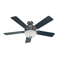 Hunter Fans The Sonora 2 Light Indoor Ceiling Fan in Antique Pewter 53171