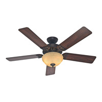 The Sonora 52 inch New Bronze with Walnut/Cherry Blades Indoor Ceiling Fan
