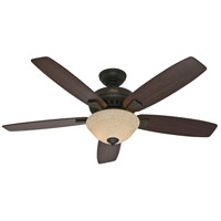 Hunter Fans Banyan 2 Light Indoor Ceiling Fan in New Bronze 53176