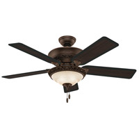 Hunter Fans Italian Countryside 3 Light Indoor Ceiling Fan in Cocoa 53200