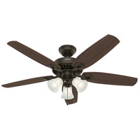Hunter Fans Builder 3 Light Indoor Ceiling Fan in New Bronze 53238