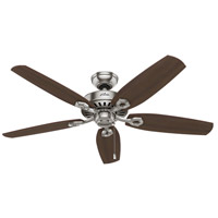 Hunter Fans Builder Indoor Ceiling Fan in Brushed Nickel 53241