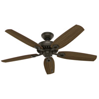 Builder Elite 52 inch New Bronze with Harvest Mahogany/Brazilian Cherry Blades Ceiling Fan