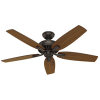 Hunter Fan 53323 Newsome 52 inch Premier Bronze with Roasted Walnut/Medium Walnut Blades Ceiling Fan