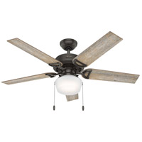 Hunter Fan 53418 Viola 52 inch Noble Bronze with Barnwood/Drifted Oak Blades Ceiling Fan