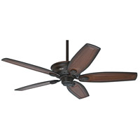 Bingham 52 inch Cocoa with Burnished Alder Carved Wood  Blades Indoor Ceiling Fan