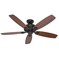 Markham 52 inch New Bronze with Yellow Walnut/Roasted Walnut Blades Indoor Ceiling Fan