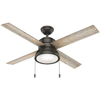 Hunter Fan 54152 Loki 52 inch Noble Bronze with Barnwood/Drifted Oak Blades Ceiling Fan