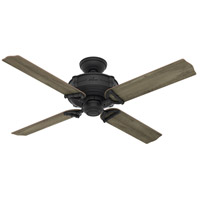 Brunswick 52 inch Natural Iron with Grey Pine/Light Oak Blades Ceiling Fan