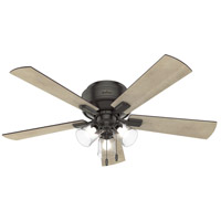 Crestfield 52 inch Noble Bronze with Bleached Grey Pine/Grey Walnut Blades Ceiling Fan