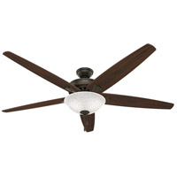 Stockbridge 70 inch New Bronze with Walnut/Medium Oak Blades Ceiling Fan
