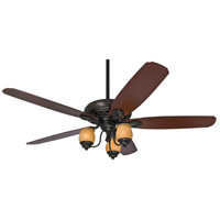 Torrence 64 inch Provence Crackle with Mahogany/Dark Walnut Blades Ceiling Fan