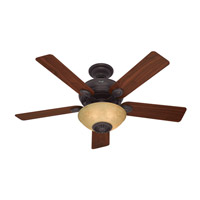 Westover 52 inch New Bronze with Dark Walnut/Cherry Blades Indoor Ceiling Fan