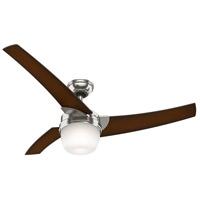 Hunter Fans Eurus 1 Light 54in Ceiling Fan in Brushed Nickel 59054