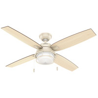 Ocala 52 inch Autumn Creme with Light Stripe/Walnut Blades Outdoor Ceiling Fan
