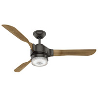Hunter Fan 59226 Apache 54 inch Noble Bronze with White Washed Distressed Oak Blades Ceiling Fan