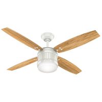 Hunter Fan 59314 Seahaven 52 inch Fresh White with Olivewood/Fresh White Blades Ceiling Fan