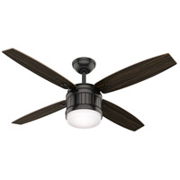 Hunter Fan 59315 Seahaven 52 inch Noble Bronze with Black Walnut/Olivewood Blades Ceiling Fan