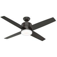 Hunter Fan 59366 Advocate 54 inch Noble Bronze with Noble Bronze /Black Walnut Blades Ceiling Fan