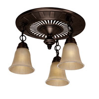 Hunter Fan 80707 The Garden District Collection Bronze Patina Bathroom Fans photo thumbnail