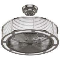 Hunter Fan 50764 Tunley 12 inch Brushed Nickel with Matte Nickel Blades Ceiling Fan