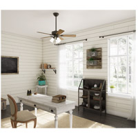 Hunter Fan 50881 Swanson 44 inch New Bronze with American Walnut/Greyed Walnut Blades Ceiling Fan alternative photo thumbnail