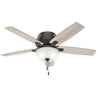 Hunter Fan 50274 Donegan 52 inch Noble Bronze with Light Gray Oak/Warm Grey Oak Blades Ceiling Fan