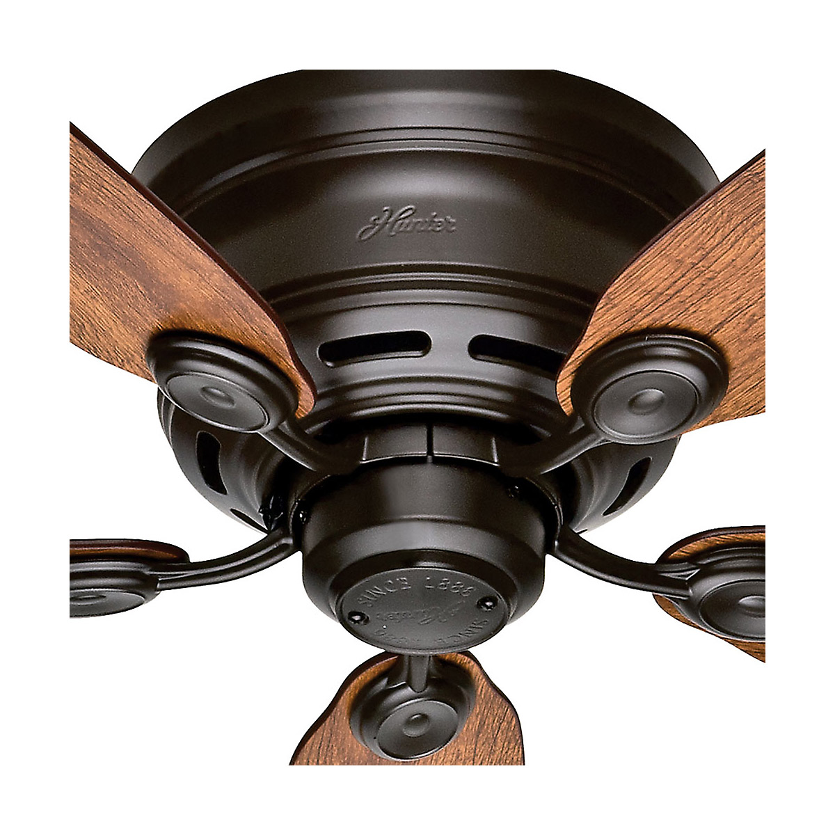 Hunter Fan Company Builder Great Room New Bronze Ceiling: Hunter Fan Company 51061 Low Profile IV Indoor Ceiling Fan