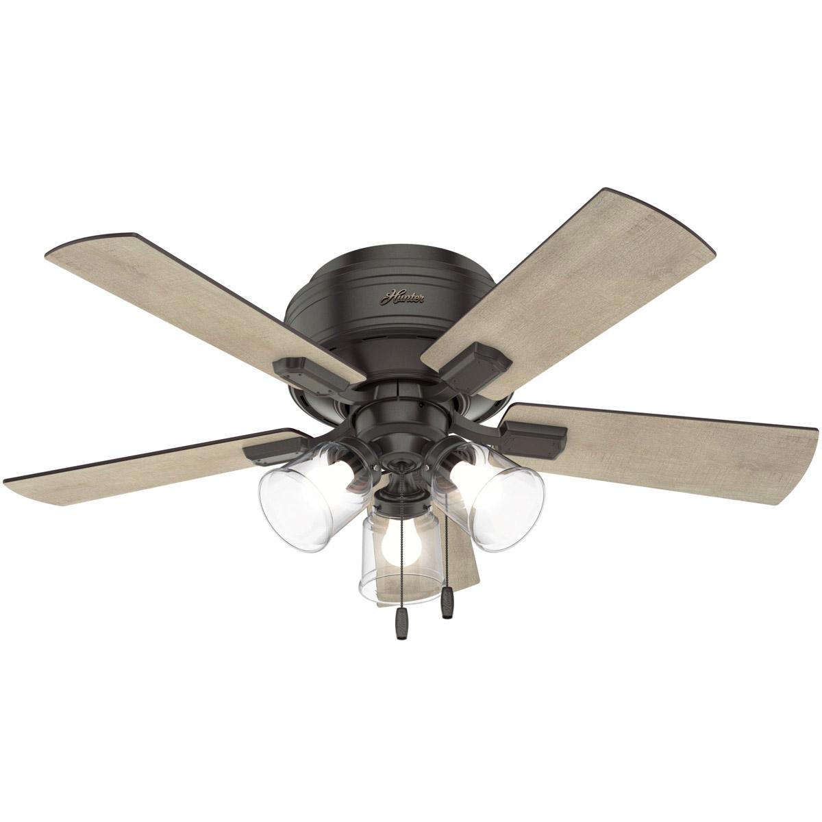 Hunter Fan Company 52153 Crestfield Indoor Ceiling Fan Noble Bronze ...