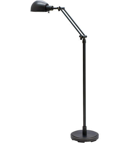 House of Troy AD400-OB Addison 48 inch 75 watt Oil Rubbed Bronze Floor Lamp Portable Light photo