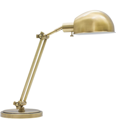 House of Troy AD450-AB Addison 24 inch 75 watt Antique Brass Table Lamp Portable Light photo