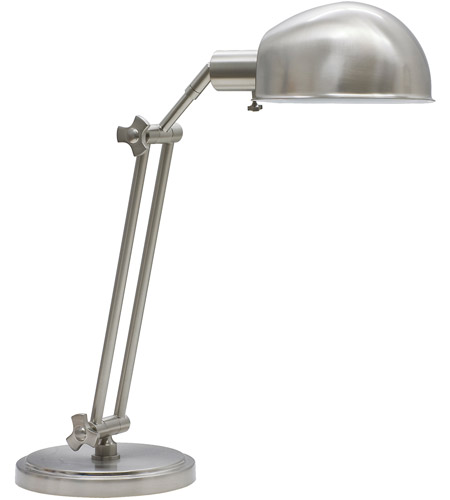 House of Troy AD450-SN Addison 24 inch 75 watt Satin Nickel Table Lamp Portable Light photo