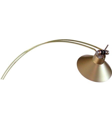 House of Troy Advent 1 Light Picture Light in Satin Brass AG-51 photo