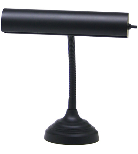 House of Troy AP10-20-7 Advent 12 inch 40 watt Black Piano Lamp Portable Light in 11.5 photo