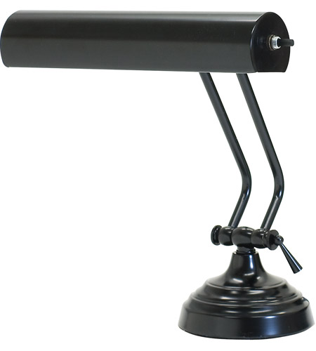 House of Troy AP10-21-7 Advent 11 inch 40 watt Black Piano Lamp Portable Light in 10.5 photo