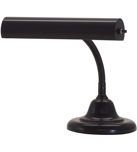 House of Troy AP10-25-7 Advent 10 inch 40 watt Black Piano Lamp Portable Light photo