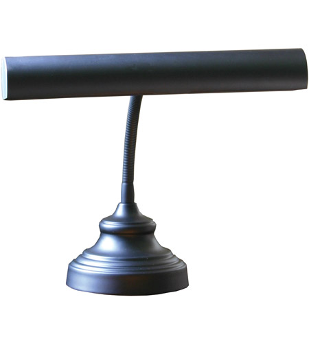 House of Troy AP14-40-7 Advent 13 inch 40 watt Black Piano Lamp Portable Light in 12.5 photo