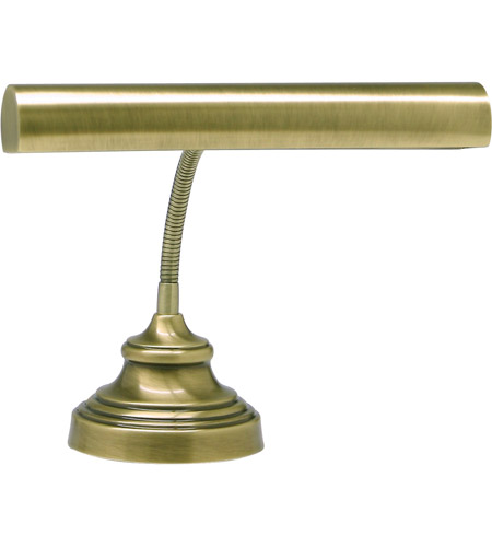 House of Troy AP14-40-71 Advent 13 inch 40 watt Antique Brass Piano Lamp Portable Light in 12.5 photo