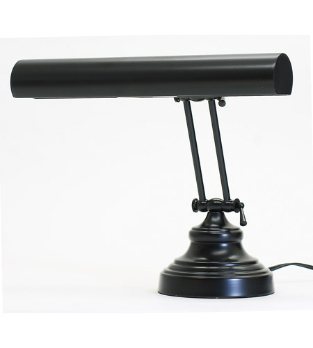 House of Troy AP14-41-7 Advent 12 inch 40 watt Black Piano Lamp Portable Light photo