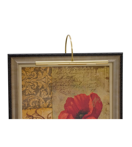 House of Troy Advent 2 Light Picture Light in Polished Brass APH16-61 photo