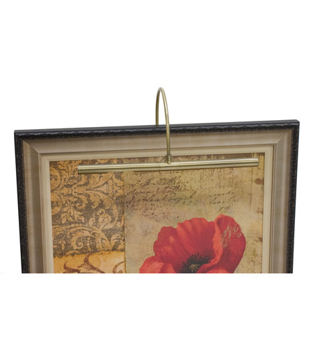 House of Troy Advent 2 Light Picture Light in Antique Brass APH16-71 photo
