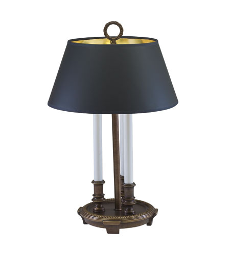 House of Troy Barrister Belgian Bronze Table Lamps BAR103-BB photo
