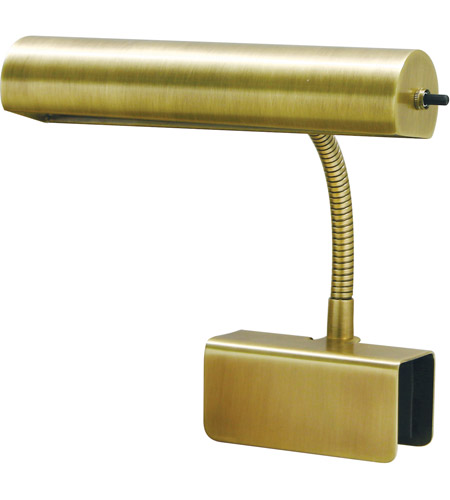 House of Troy BL10-AB Bed Lamp 9 inch 40 watt Antique Brass Task Light Portable Light photo