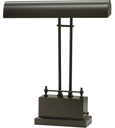 House of Troy BPLED200-81 Piano and Desk 14 inch 3.2 watt Mahogany Bronze Piano Lamp Portable Light photo