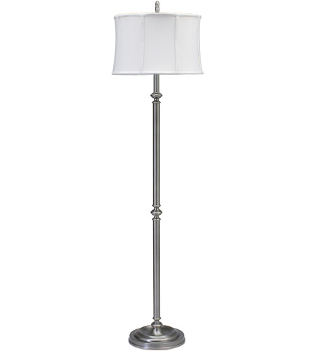 House of Troy CH800-AS Coach 61 inch 150 watt Antique Silver Floor Lamp Portable Light photo